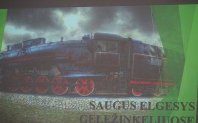 Saugiai keliauti traukiniais