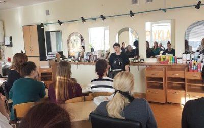 Seminaras būsimiems plataus pfilio kirpėjams ir mokytojams