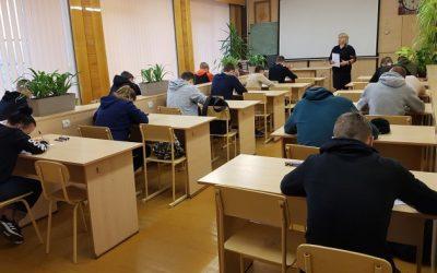SUDOKU konkursas tarp Klaipėdos profesinių mokyklų