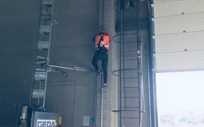 Darbininko dirbančio aukštalipio darbus kompetencijų vertinimas