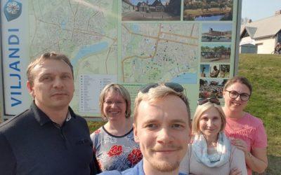 Projekto veiklos Estijoje