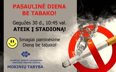 Pasaulinė diena be tabako