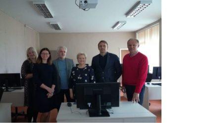 """II-asis tarptautinis Erasmus+ strateginės partnerystės projekto """"PREFCONTRUCTION"""" partnerių susitikimas"""
