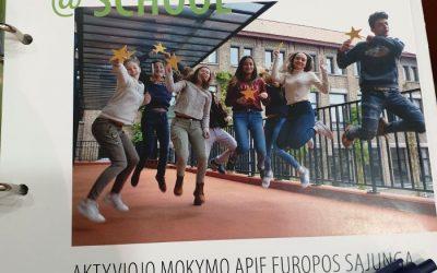 "Projektas  ,,Mokyklos – Europos Parlamento ambasadorės"""