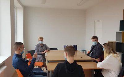 Susitikimas su mokinių taryba